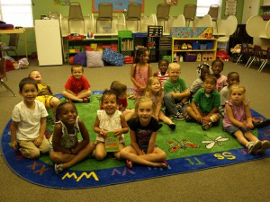 daycare students in a Cornerstone Christian Academy